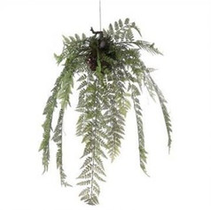 Artificial Hanging Fern