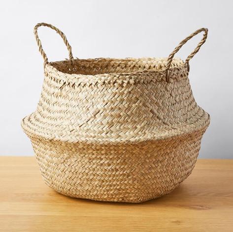Seagrass Basket- Natural