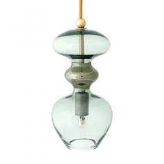 Futura Pendant Lamp- Forest Green