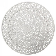 Cassia Resin Mandala Wall Plaque