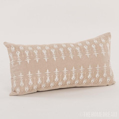 Dior Chambray Handmade Pillow Cover