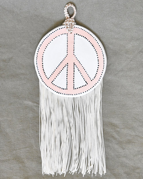 PEACHY PEACE SIGN