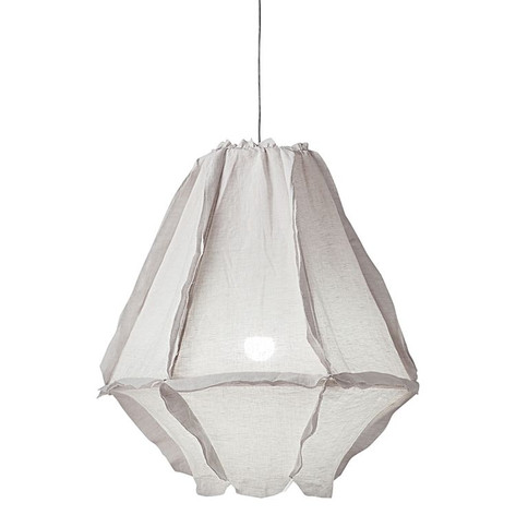 Cumulus Linen Pendant Light- Small