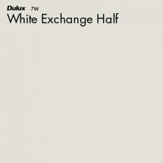 White Exchange Half