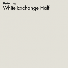 White Exchange Half