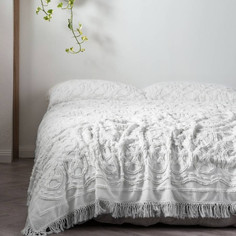 Somers Bed Cover- White