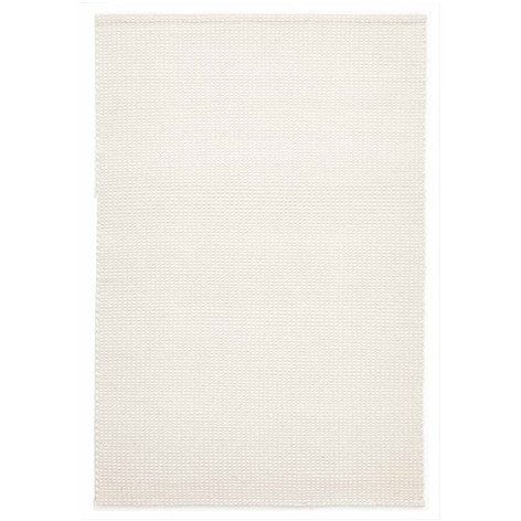Rug Culture Carlos Felted Wool Rug White Natural