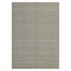 Knots Diamond Modern Jute Rug- Green