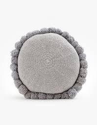 Soleil Pom Pom Cushion
