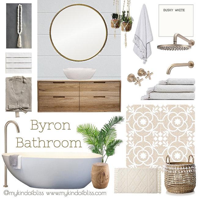 bathroom design, my kind of bliss, bathroom decor, bathroom Inspo, coastal style, boho decor, property styling, perth interior designer, coastal bathroom, boho bathroom, Byron Bay
