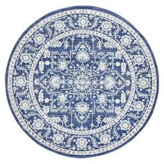 Reales Oriental Round Rug