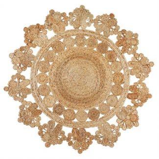Flower Weave Marigold Rug