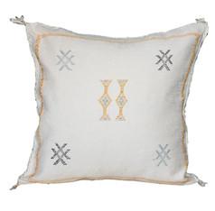 Saharan Cactus Silk Pillow Cover