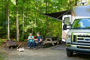 Water filters for RVs and campers
