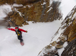 Splitboarding Nevada's Couloirs