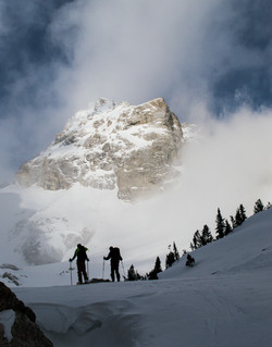 Ski Mountaineering in the Tetons