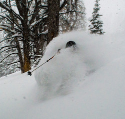 Teton Powder Skiing