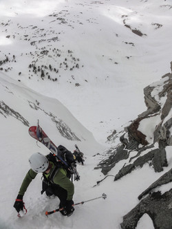 Ski Mountaineering in Idaho