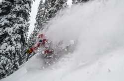 Powder Skiing on Rogers Pass BC