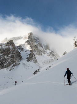 Ski Touring in the Tetons