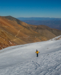 Ski Touring in the High Andes