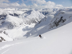 Skiing in the Coast Range of BC