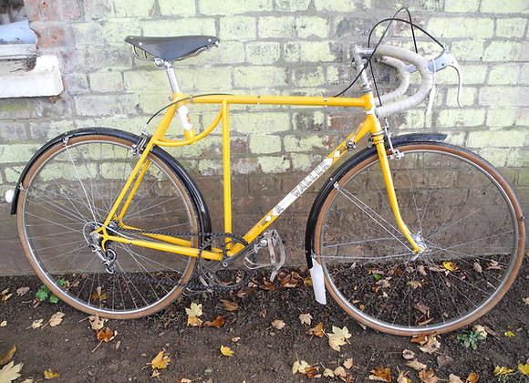 A Waller 'Kingsland' vintage cycle, 21 1/2""