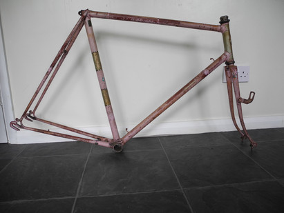 "And a 1963 Flying Scot frame, (23 1/2"")"