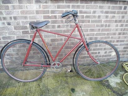 """25"""" Swift Kirmer Arrow cross-frame bike - delightful!"""