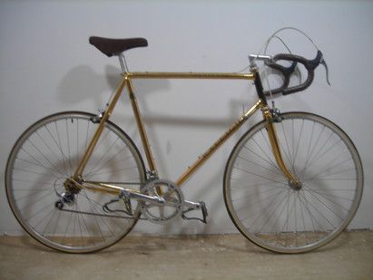 Invest in Gold! 1987 Raleigh Centenary - fully gold plated, and never ridden.