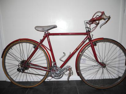52cm Les Rigden tourer - exceptional craftsmanship.