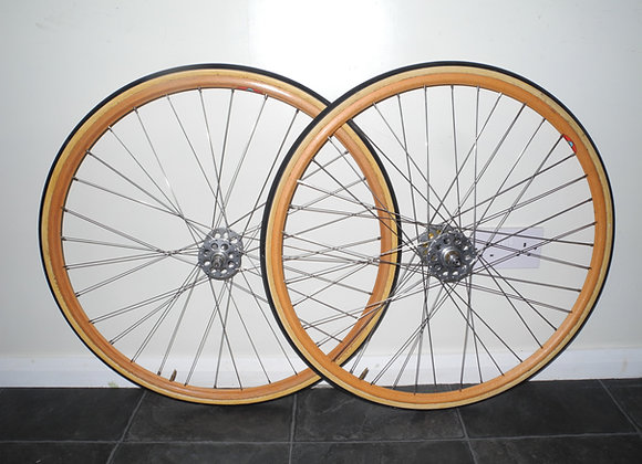Wooden wheels - 'canes'