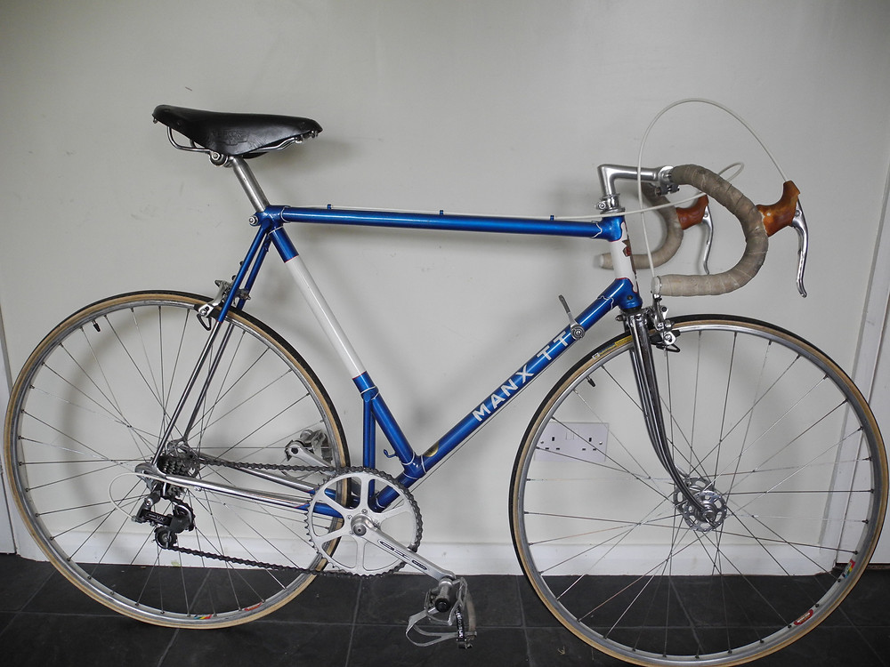 Well, we've just sold a rare Sun Manx TT - and we've got another! Pain and chrome are in outstanding condition, beautiful wheels, (brakes and gears are good but non-period).