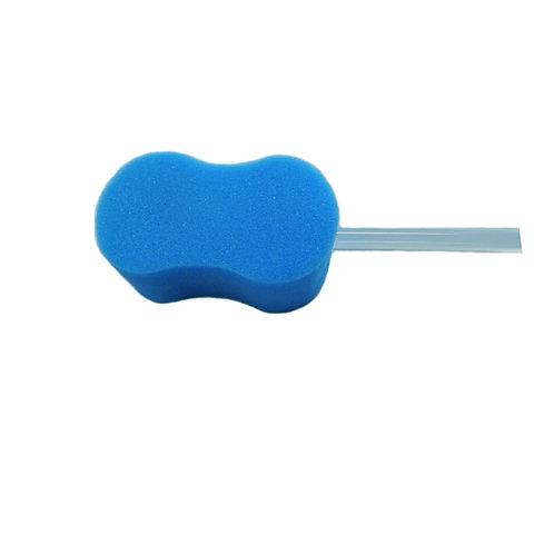 Daffo Green DH-002 Contour Bath Sponge with Long Handle for Easy Washing