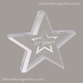 ACR78 Star Gazing Style Silver Acrylic