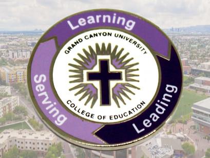Grand Canyon University's Custom Lapel Pin!