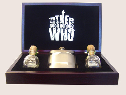 Custom Wooden Presentation Boxes for The Who