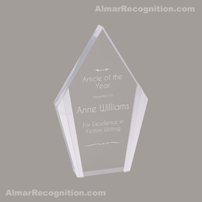 ACR75 Diamond Style Silver Edge Acrylic