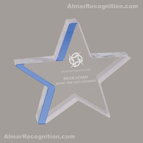 ACR76 Star Gazing Style Blue Acrylic