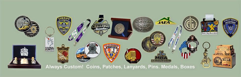 Almar Recognition Always Custom Coins, P