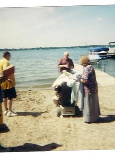 Dan Cissna Baptism 2002