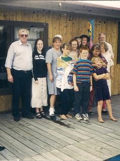 SGBC first Baptism service 1998~ Bro. Ralph Hawkins on the far right