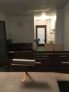 Inside of our meeting room from 1998 to 2016~ we were blessed by God