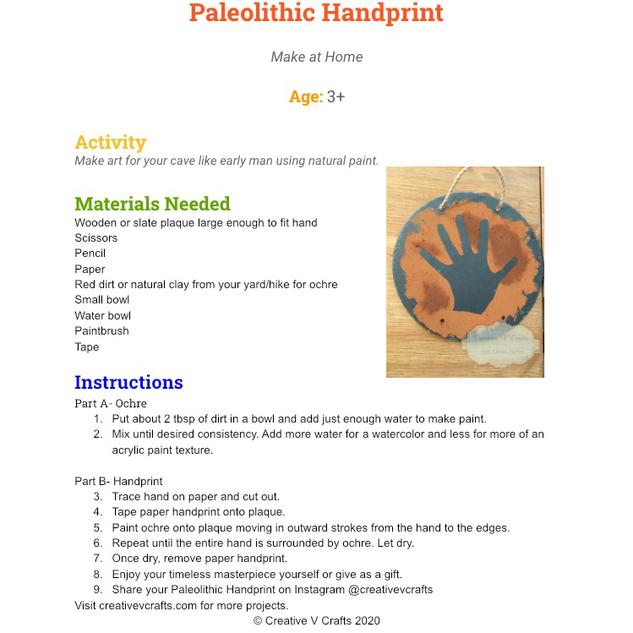 Paloelithic Handprint