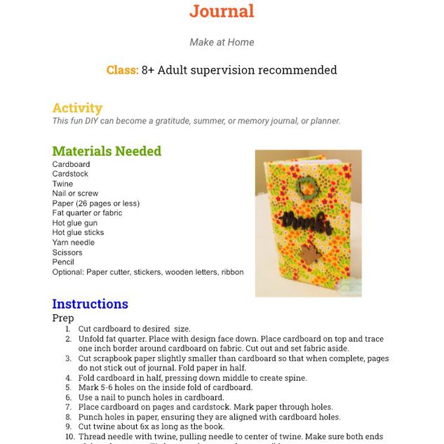 Gratitude Journal- Page 1