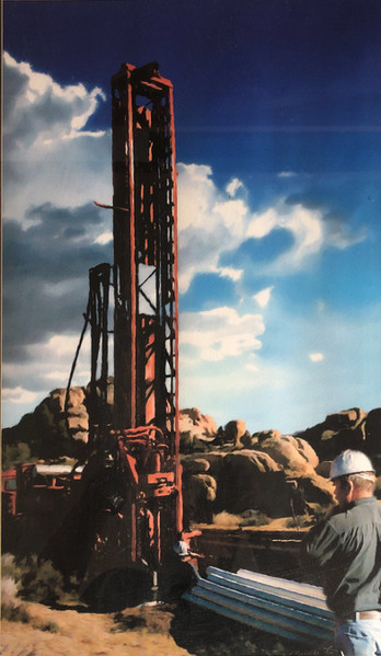 Drilling in Pioneertown, 1992