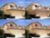 Four color scheme renderings