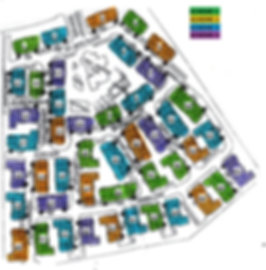 Map of color schemes for HOA