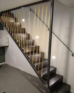 escalera cuerda