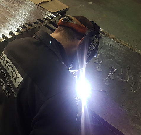 barandilla, puertas, mobiliario, hierro, acero inoxidable, metalistería, cristal